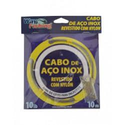 CABO DE AÇO INOX 60 LB - WAY FISHING