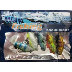 ISCA SILICONE 5561 6CM - WAY FISHING