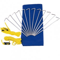 CONJUNTO ESTACAS KIT CAMP - NAUTIKA