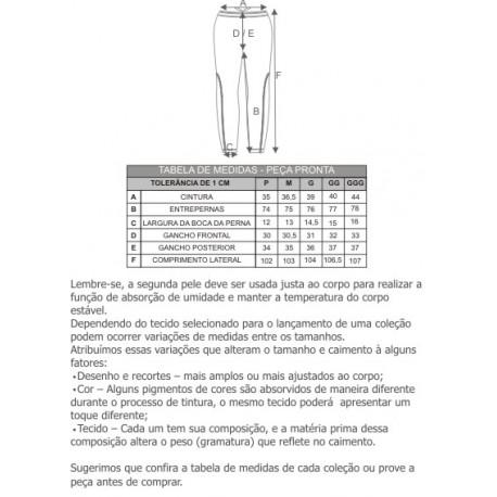 CALÇA THERMOSKIN MAS - CURTLO