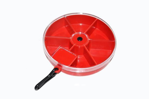 Giratório Vermelho